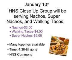 HNS Close Up Taco Feed